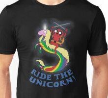 Ride the unicorn! Unisex T-Shirt