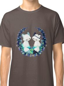 Floral Foxes Classic T-Shirt