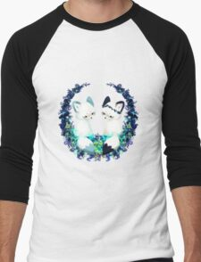 Floral Foxes Men's Baseball ¾ T-Shirt