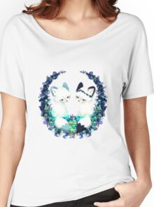 Floral Foxes Women's Relaxed Fit T-Shirt