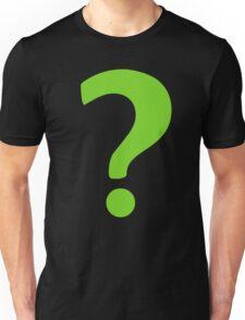Enigma - green question mark Unisex T-Shirt