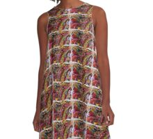 Colorful Grouping A-Line Dress