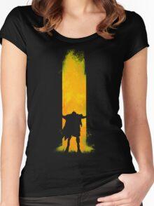 Open the Door Women's Fitted Scoop T-Shirt