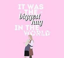 The Biggest Hug In The World - Josie Griffiths by wormwoods