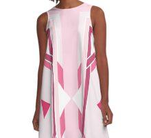 Pink Magic Crystal A-Line Dress