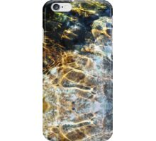 Ripples and River Rocks Photography iPhone Case/Skin