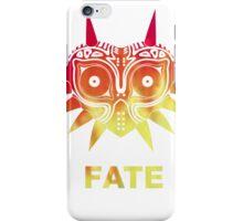 A Fiery Fate - Zelda Majora's Mask iPhone Case/Skin
