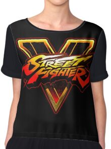 Street Fighter V - Logo Chiffon Top