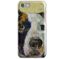 Pit Bull Portrait iPhone Case/Skin
