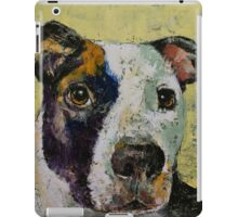 Pit Bull Portrait iPad Case/Skin