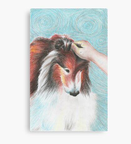 Strokes of Fur Canvas Print