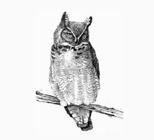 Sketch of Barn Owl Unisex T-Shirt