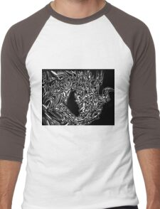 Alduin Dragon - The Elder Scrolls Skyrim Men's Baseball ¾ T-Shirt