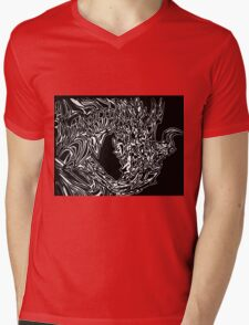 Alduin Dragon - The Elder Scrolls Skyrim Mens V-Neck T-Shirt
