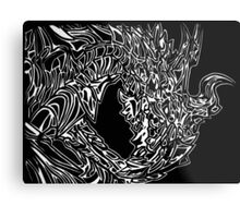 Alduin Dragon - The Elder Scrolls Skyrim Metal Print