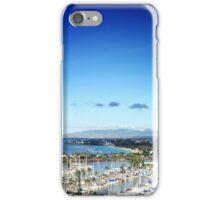 Honolulu lagoon & beach - daytime iPhone Case/Skin