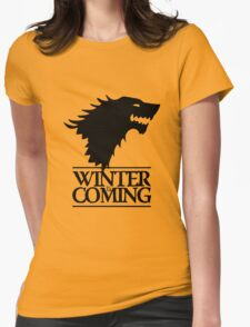 winter Womens Fitted T-Shirt