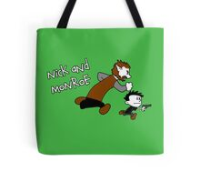 Nick And Monroe Tote Bag