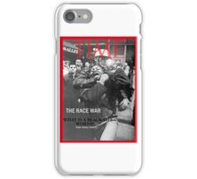 black lives matter movement iPhone Case/Skin
