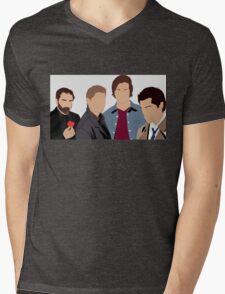 Supernatural Silhouettes  Mens V-Neck T-Shirt