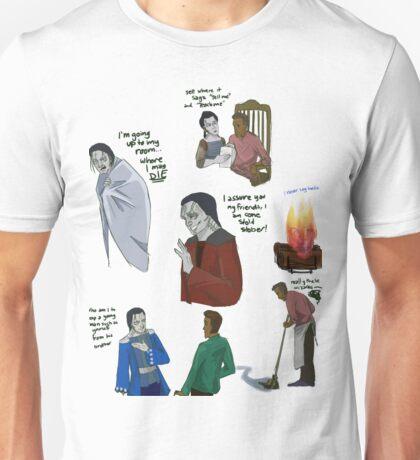 Howl's Moving Castle Book Au Unisex T-Shirt