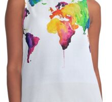 live in color Contrast Tank