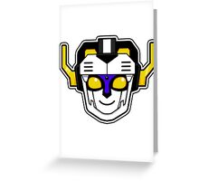 Voltron 3 Greeting Card