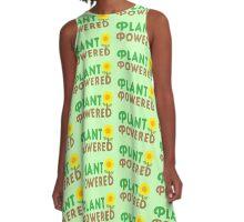 Plant powered A-Line Dress
