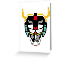 Voltron 4 Greeting Card