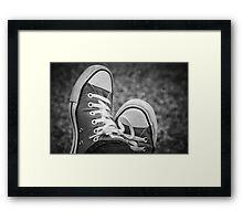My Chucks  Framed Print