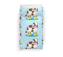 cute little moo cow Duvet Cover