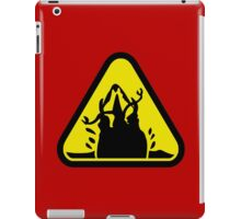 Beware of the Graboid! iPad Case/Skin