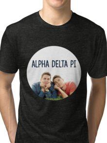 Alpha Delta Pi bff Tri-blend T-Shirt