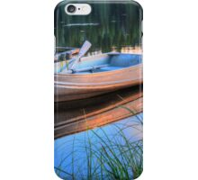 Pier At Sunset iPhone Case/Skin