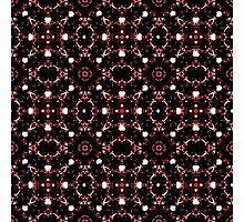 Futuristic Dark Pattern Photographic Print