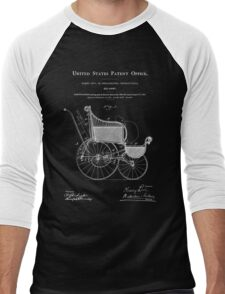 Stroller Patent - Blueprint Men's Baseball ¾ T-Shirt