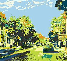 Washington Avenue - Cedarburg WI - Ci20C (bold) by katherinepaulin