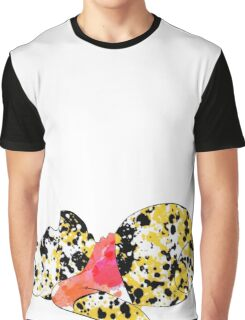 bear inspired splatter paint Graphic T-Shirt