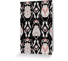 Grotesque Beauty Greeting Card
