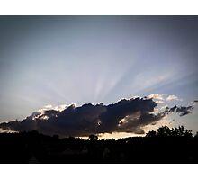 alien cloud Photographic Print