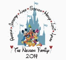 Mickey and the gang Castle Family Vacation ~ DO NOT PURCHASE THIS SAMPLE. SEE DESCRIPTION by sweetsisters