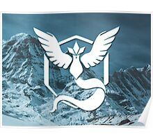 Pokemon Go: Team Mystic (White) Poster