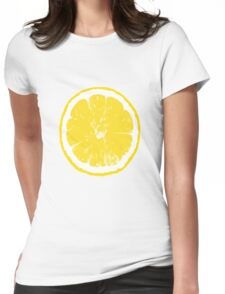 The Stone Roses Lemon 2016 Womens Fitted T-Shirt