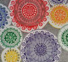 mandala colorful Sticker