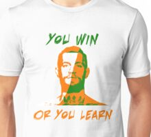 Conor McGregor UFC You Win or You Learn Unisex T-Shirt