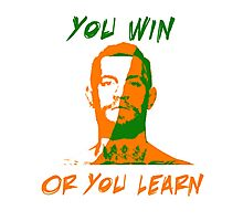 Conor McGregor UFC You Win or You Learn Photographic Print