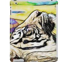 Tiger numero quatro iPad Case/Skin