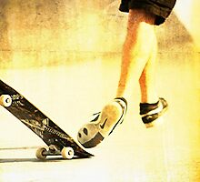 Skateboard -- falling off ...LOL by ThymeJJ