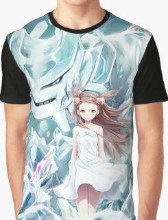 Pokemon - Jasmine - Steelix (no text) Graphic T-Shirt