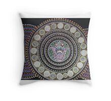 zen yoga Throw Pillow